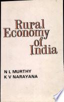 Rural Economy of India
