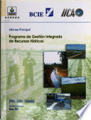 Informe principal. Programa de gestión integrada de recursos hídricos