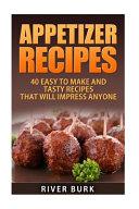 Appetizer Recipes Pdf/ePub eBook