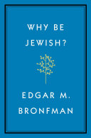 Why Be Jewish  Book PDF
