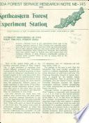 U.S. Forest Service Research Note NE.