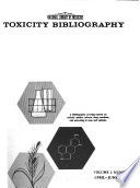 Toxicity Bibliography