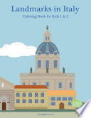 Landmarks in Italy Coloring Book for Kids 1   2