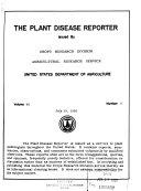 Pdf The Plant Disease Reporter
