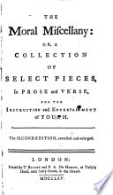 The Moral Miscellany ... The Second Edition, Corrected and Enlarged