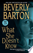 What She Doesn t Know Book