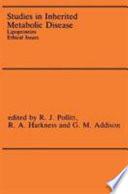 Studies in Inherited Metabolic Disease