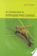 An Introduction To Arthropod Pest Control Book PDF