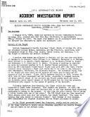 British Commonwealth Pacific Airlines  Ltd   Near Half Moon Bay  California  October 29  1953