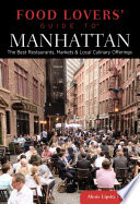 Food Lovers  Guide to   Manhattan