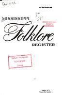 Mississippi Folklore Register