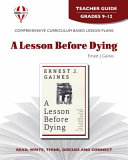 A Lesson Before Dying Teacher Guide Book