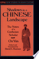Shadows In A Chinese Landscape Book PDF