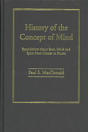 History of the Concept of Mind Book PDF