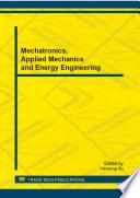 Mechatronics  Applied Mechanics and Energy Engineering