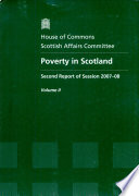 Poverty in Scotland Book