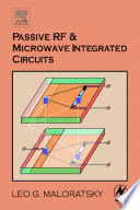Passive RF and Microwave Integrated Circuits Book