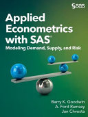 Applied Econometrics with SAS