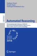 Automated Reasoning [Pdf/ePub] eBook