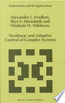 Nonlinear And Adaptive Control Of Complex Systems Book PDF