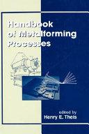 Handbook of Metalforming Processes