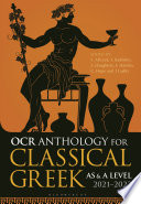 Ocr Anthology For Classical Greek As And A Level 2021 2023