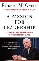 A Passion for Leadership Pdf/ePub eBook