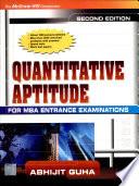 Quantitave Aptitude For Mba Ent.Exam