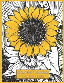 Sunflowers Coloring Book for Adults