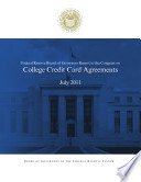 College Credit Card Agreements Book PDF