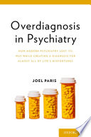 Overdiagnosis in Psychiatry