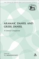 Aramaic Daniel and Greek Daniel [Pdf/ePub] eBook