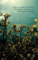 The Dynamic Interplay between Context and the Language Learner Pdf/ePub eBook