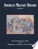 American Military History Volume I