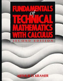 Fundamentals of Technical Mathematics with Calculus
