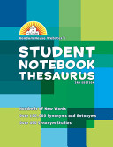Random House Webster s Student Notebook Thesaurus  Basic