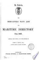 The Mercantile navy list  1848  4 issues   49  2 issues   50 53 57 61 64 71 80 81 92 1939 Book