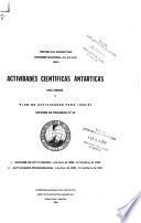 Investigaciones Antárticas de la República Argentina