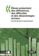 Pdf Élèves présentant des déficiences, des difficultés et des désavantages sociaux Statistiques et indicateurs Telecharger