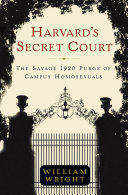 Harvard s Secret Court