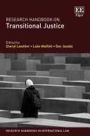 Research Handbook on Transitional Justice:  - Seite ii