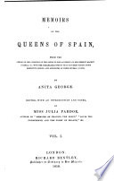 Memoirs of the Queens of Spain Book
