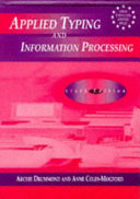 Applied Typing and Information Processing ebook
