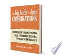 The Big Book of Font Combinations  PDF ebook  Book