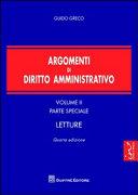 Argomenti di diritto amministrativo