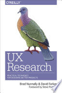 UX Research  : Practical Techniques for Designing Better Products