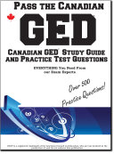 Pass the Canadian GED     Complete Canadian GED Study Guide and Practice Test Questions