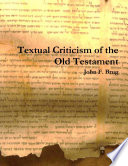 Textual Criticism Of The Old Testament