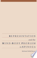 Representation And The Mind Body Problem In Spinoza