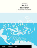 Introduction to Social Research Book